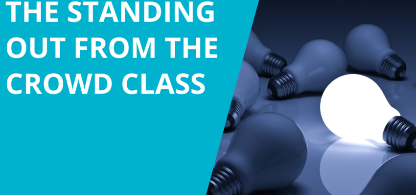 The Standing Out From the Crowd Class with Lesley Pyle
